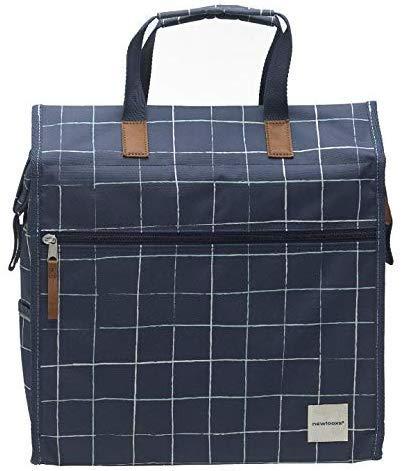 New Looxs zeer mooie fietstas/bagagetas Lilly18 liter donkerblauw