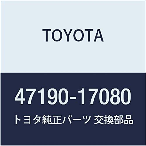 Genuine Toyota Parts Max 55% OFF High material - Valve 47190-17080 Assy Proporti