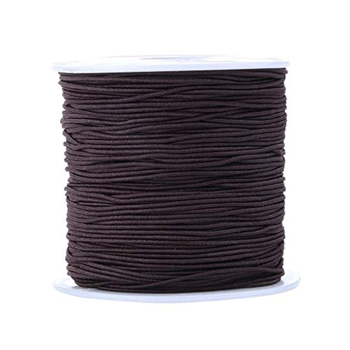 Shan-S Elastic Bands for Sewing Face Guard, Colorful Heavy Stretch High Elasticity Knit Rope Threads String Fabric Crafting Cords for Jewelry Making, Hair Ties, DIY Crafts Bracelets Necklaces Beading