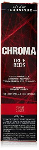 L'oreal Paris Chroma True Reds Permanent Hair Color, Chroma Sangria