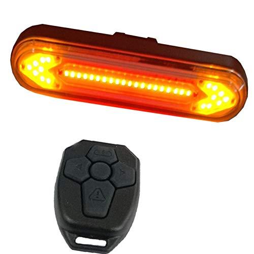 Luces De Bicicleta Recargable Luz Trasera Bicicleta USB Multifuncional Luz Led Bicicleta Ligero Y PortáTil Accesorios para Montar De Noche