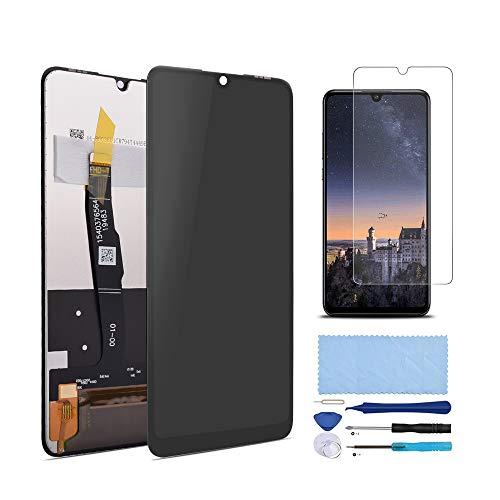 Pieza de Montaje de Reemplazo de Pantalla Digitalizador Táctil de Pantalla LCD para Huawei P30 Lite/Huawei P30 Lite Nueva edición, con Herramientas (Negro SIN Marco)