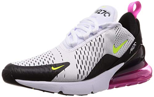 Nike Mens Air Max 270 Running Shoes Black/White/Concord AH8050-109 Size 9.5