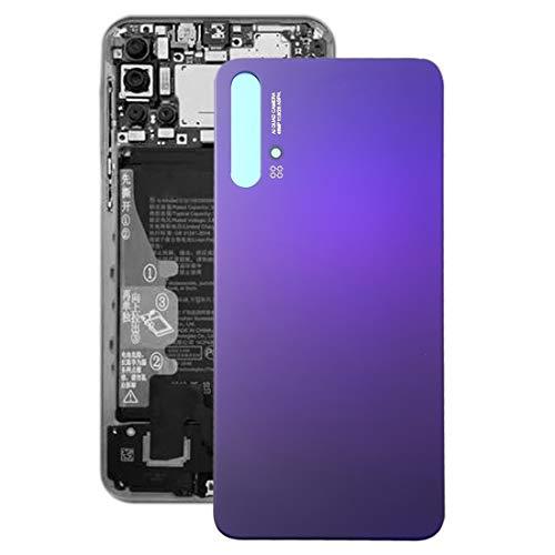 Ebogor para Cubierta Trasera de la batería para Huawei Nova 5T (Color : Purple)