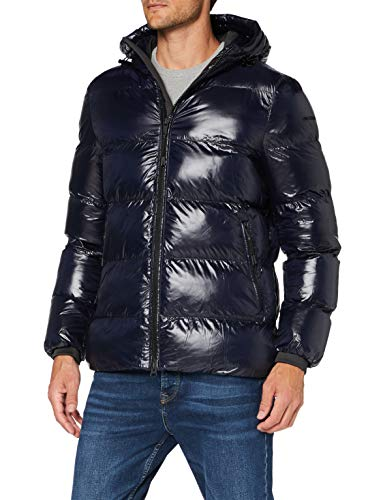 Geox Mens M Sile Quilted Jacket, Blue Nights, 52