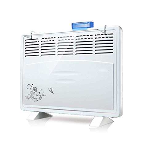 Calefactor Pequeños electrodomésticos 1600W 220V calentador montado en la pared / pie calentador eléctrico Estufa Radiador Calentador de Hogares de habitaciones Calefacción Ventilador máquina for W. (