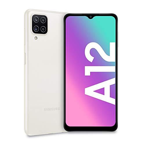 Smartphone Samsung Galaxy A12 4GB/ 128GB/ 6.5'/ Blanco