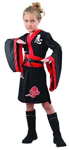 Rire Et Confetti - Fianin023 - Déguisement pour Enfant - Costume Petite Ninja - Fille - Taille S