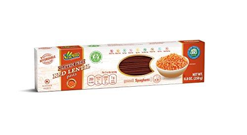 Sam Mills High Protein Pasta Red Lentil Spaghetti 8.8oz. box, pack of 6