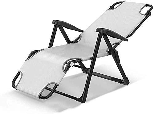 HJRBM Air Comfort Sillón reclinable Plegable Multifuncional Sillón reclinable Individual Pausa para...