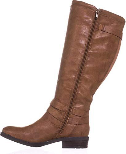 BareTraps Womens Yalina2 Closed Toe Knee High Fashion Brush Brown