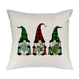 圣诞侏儒投掷枕头套