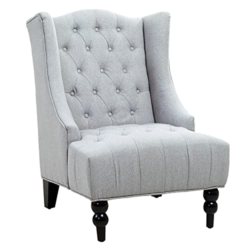 Christopher Knight Home Clarice Accent Chair, Grey
