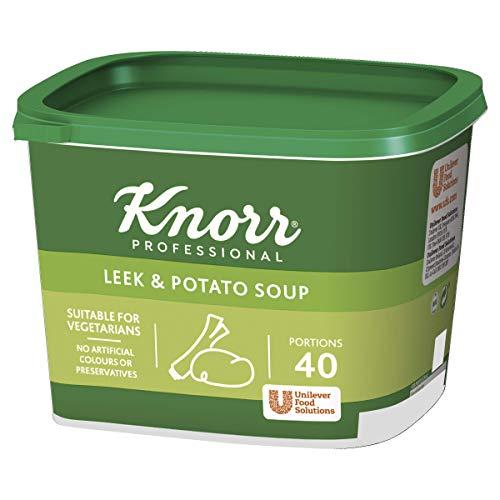 Knorr Professional - Sopa de puerros y patatas, 40 porciones