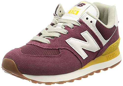 New Balance WL574VN2_41,5, Zapatillas Mujer, Granate, 41.5 EU