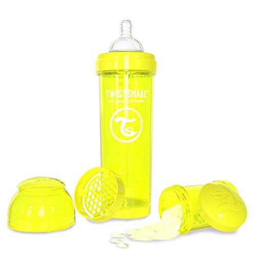 Twistshake 78041 - Biberón, color amarillo