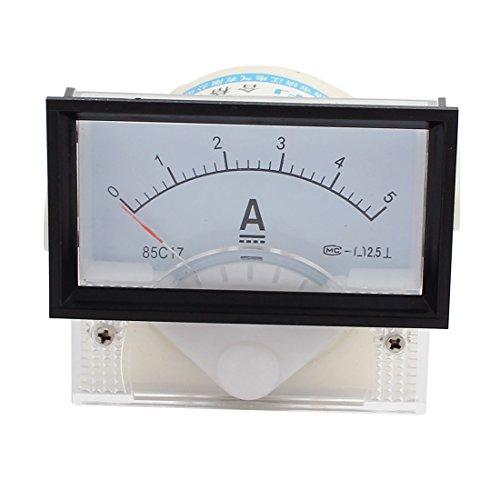 Aexit 85C17-A Klasse 2,5 Genauigkeit DC 0-5A Analoges Messgerät Amperemeter (47f88e31f17a05ea383097fca7e20770)