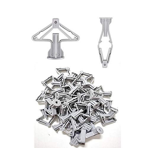 410 Stainless Steel Hex Washer Head Self Drilling Screws Hex Washer Head Tapping Screw Tek Screws Self-Drilling Dovetail Screws for Wooden Drill KINPAR M4.2 X 13mm 50 PCS