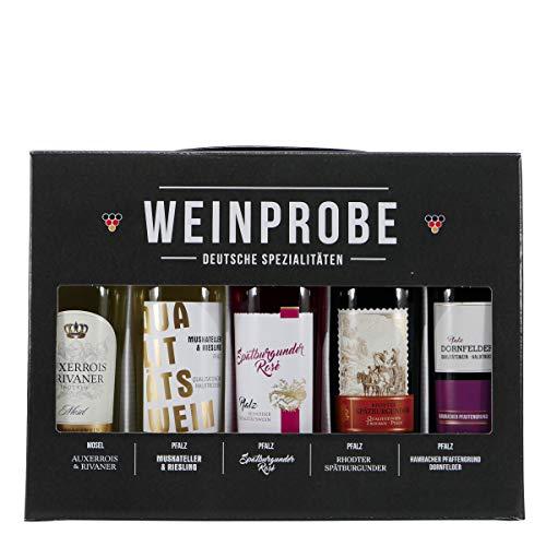 WEINPROBE - Deutsche Spezialitäten (5 x 0,25L)