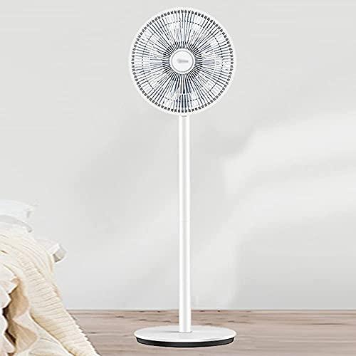 Ventilatore di raffreddamento ad aria di piedistallo oscillante, ventilatore a basso rumore per la camera da letto da cucina Home office, 85Deg; Copertura grandangolare, Grille rimovibile è facile da