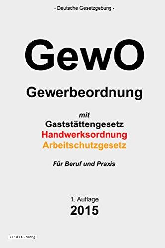 GewO (German Edition)