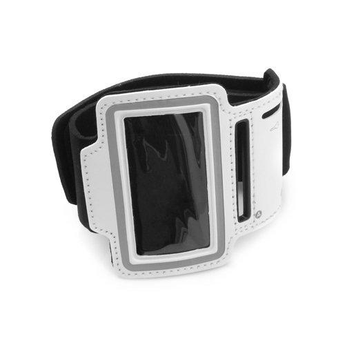 System-S Sportarmband Fitness Lauf Biking Armband Neopren Tasche Schutz Hülle Cover für iPod Nano 7 Farbe weiß