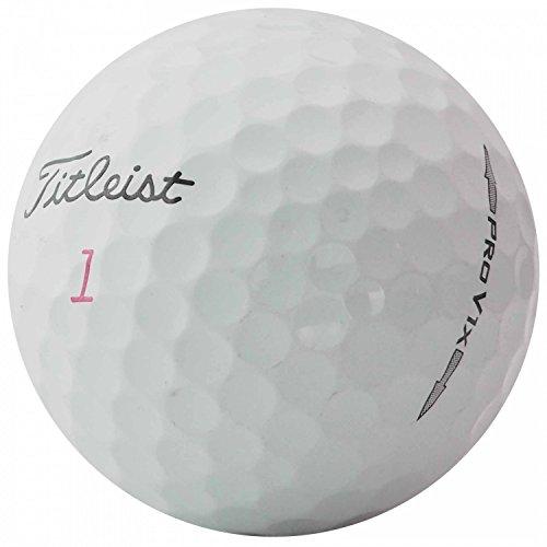 TITLEIST  25 Pro V1x Golfbälle - AAA - weiß - Lakeballs - gebrauchte Golfbälle - Teichbälle