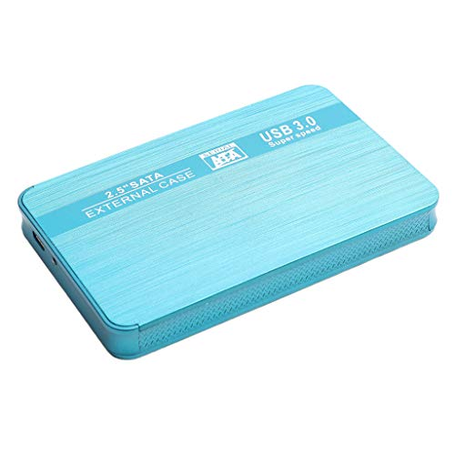 MERIGLARE Disco Duro Externo Portátil SATA Ultra-Slim Type-C para Computadora PC Azul - 2T