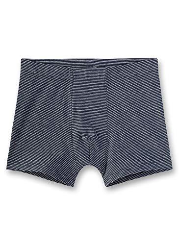 Sanetta Jungen Hipshorts Stripe Shorts, Blau (Slate Blue 5337), (Herstellergröße: 140)