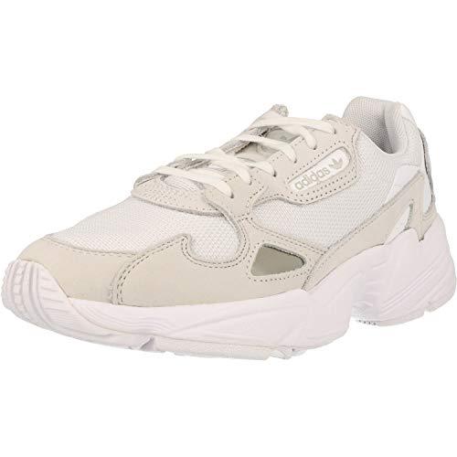 adidas Falcon, Zapatillas de Running Mujer, Footwear White Footwear White Crystal White, 37 1/3 EU