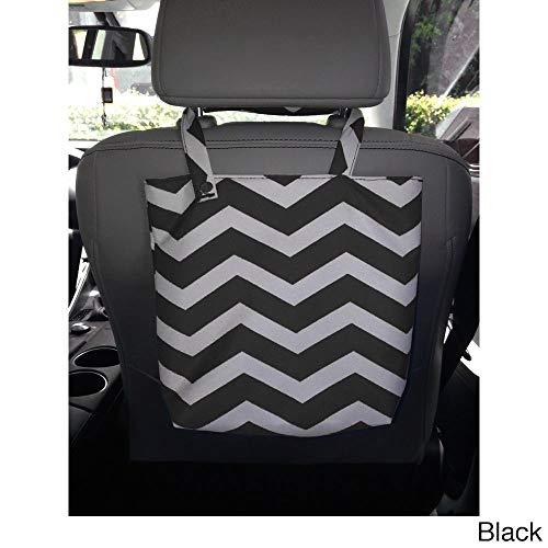 The Source Force Chevron Design Auto Trash Bag Black