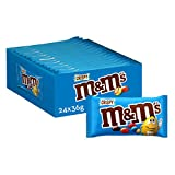 M&Ms Choco Snack en Bolitas de Colores de Arroz inflado y Chocolate con Leche (24 bolsitas x 45g)
