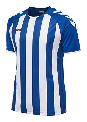 Hummel Herren Core Striped Jersey Trikot, True Blue/White, XL EU