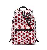 Nike Heritage JDI Dots Rucksack Backpack (one Size, White/Black)