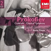 Andre Previn - Prokofiev: Cinderella-Ballet & Symphony No.1 (2CDS) [Japan CD] TOCE-16114 by Andre Previn