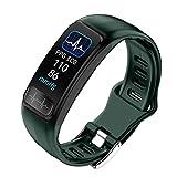 HQHOME Fitness Armband mit Pulsmesser, Fitness Tracker mit Blutdruckmessung Pulsuhren, ECG+PPG Fitness Uhr Aktivitätstracker Schrittzähler Schlafmonitor Uhr IP67 Smartwatch für Herren Damen