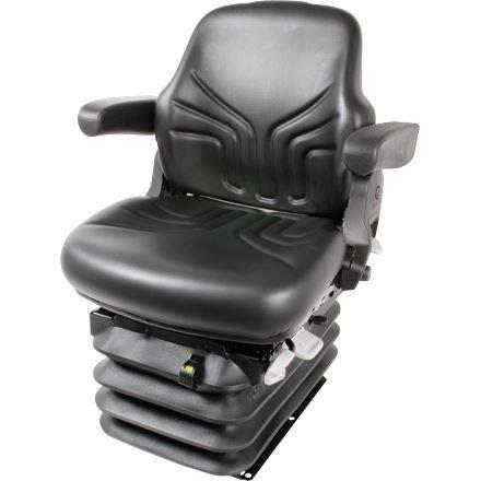 Traktorsitz GRAMMER Maximo Comfort, aus Kunstleder, Farbe schwarz, MSG 95 G 721 (1201942)
