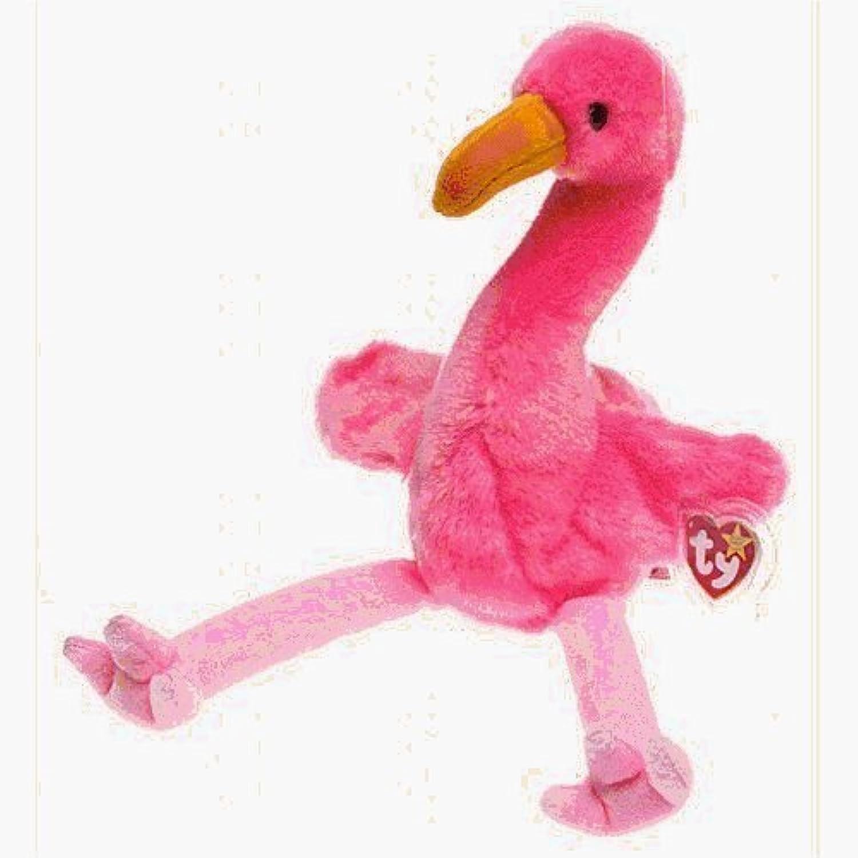 TY Beanie Buddy  PINKY the Pink Flamingo by Beanie Buddies