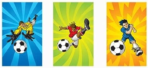 168 mini cuadernos de fútbol, para niños y niñas, para ...