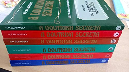 A Doutrina Secreta Vol.I, II, III, IV, V e VI