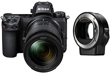 $2396 Get Nikon Z6 Mirrorless Camera with 24-70mm f/4 S Lens and Mount Adapter FTZ