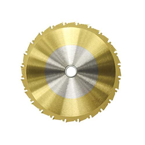 planuuik 1 Stück 210mm TCT Sägeblatt Nano Titanbeschichtung Beschichtung Kreissägeblatt Holzbearbeitungs-Schneidscheiben Hartmetall-Sägeblatt