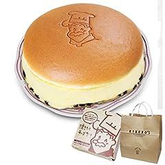 りくろーおじさんの焼きたてチーズケーキ<6号サイズ/直径18cm> 紙袋付き