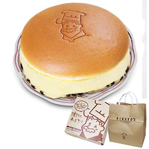 りくろーおじさんの焼きたてチーズケーキ<6号サイズ/直径18cm>紙袋付き