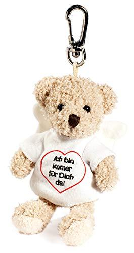 Schaffer 3197 Plüsch-Schlüsselanhänger Engelbär