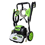 PowRyte Elite Power Washer 4500PSI 3.5GPM, Electric Pressure Washer with 4pcs 1/4'' Universal Spray Nozzles (Green)