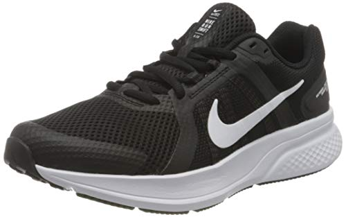 Nike Herren CU3517-004_43 Running Shoes, Black White Dark Smoke Grey, EU