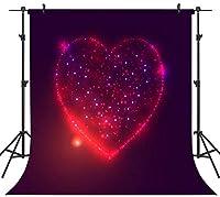 GooEoo 10×10FTシームレスなバレンタインデーのテーマ絵布カスタマイズされた写真の背景の背景スタジオプロップVDD034C
