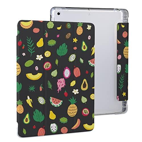 Patrón De Colores De Frutas Tropicales Funda Protectora para Tableta iPad iPad 2020 Air 4 (10.9in)