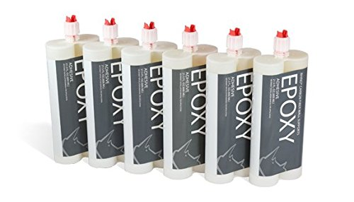 Epoxy Adhesive - Epoxy Glue for Foundation Repair, Basement Repair, Wall Repair, Concrete Crack Repair | Construction Adhesive Glue (Pack of 6)